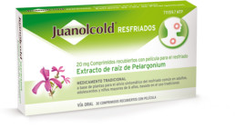 Juanolcold Resfriados packaging